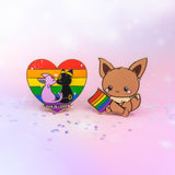 Umbreon x Espeon // Love is Love
