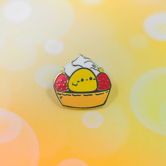 PATREON PIN // Baby Chick Tart Mini Pin