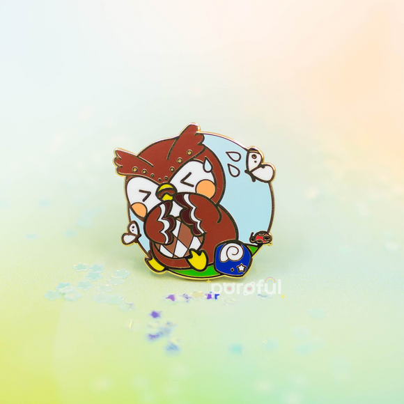 Blathers Bane of Existence Enamel Pin