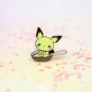 Pichu Breakfast & Eggs Pins