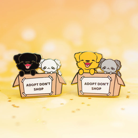 CHARITY PIN / Doggy Adoption