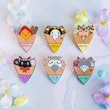 Ghibli Crepe Pin Set