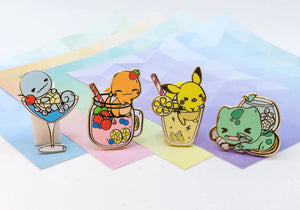 Kanto Starters Drink Set