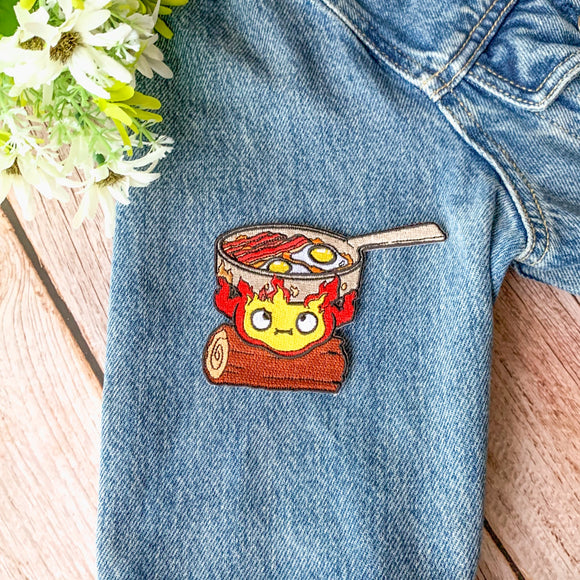 Calcifer Iron-on Patch