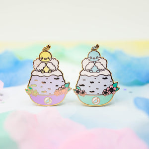 Altaria Shaved Ice Pin