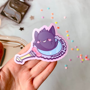 Gengar x You Are BOOtiful Sticker