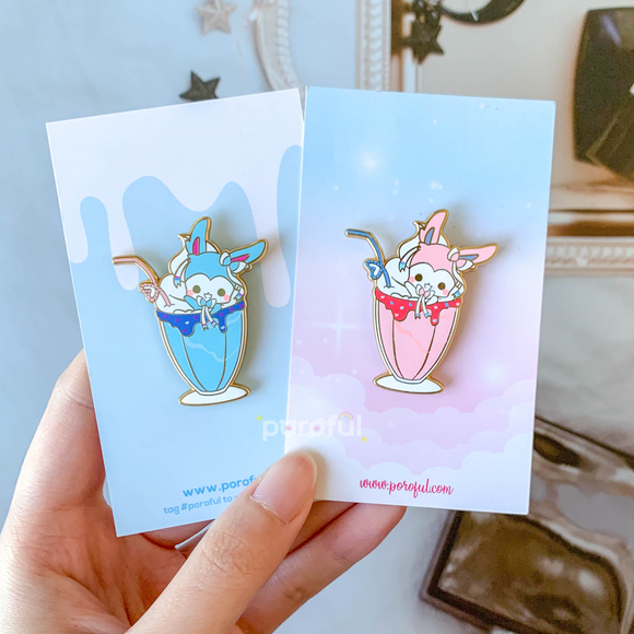 Sylveon Milkshake Pin