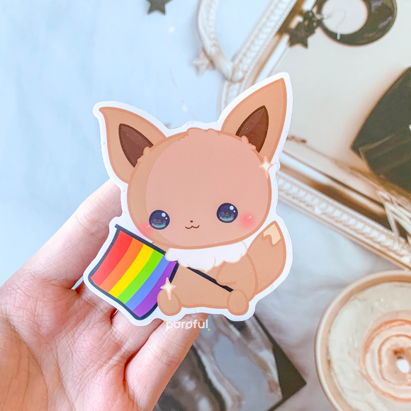 Eevee Ally Sticker