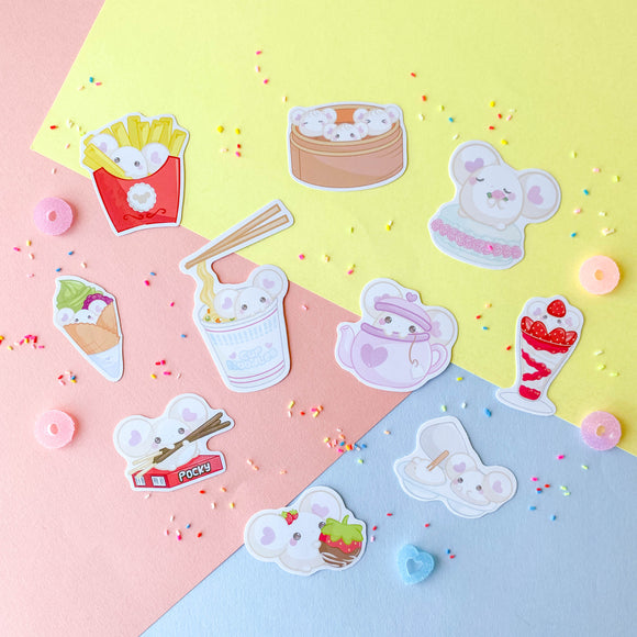 Puffi Bakery & Cafe Sticker Pack