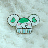 Puffi Shaved Ice/Kakigori Enamel Pin