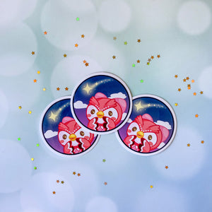 Animal Crossing Celeste Wishing Star Sticker