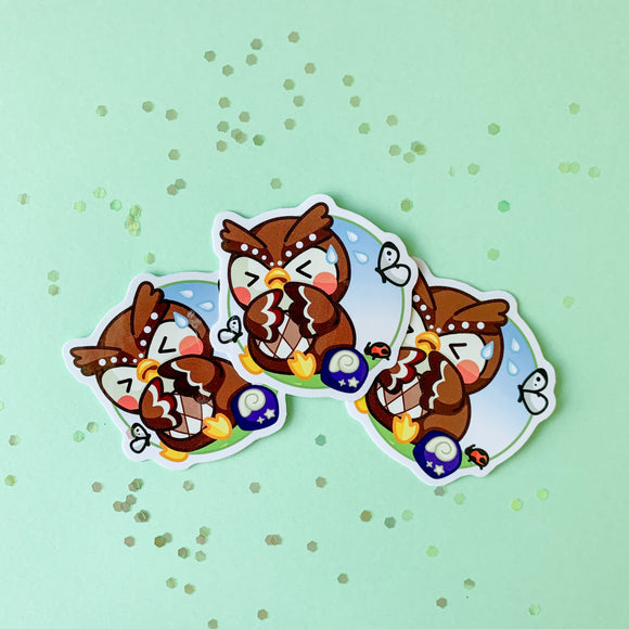 Animal Crossing Sticker - Blathers