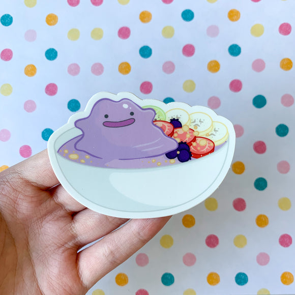 Ditto Smoothie Bowl Sticker