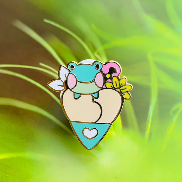 Animal Crossing // Lily Crepe Pin