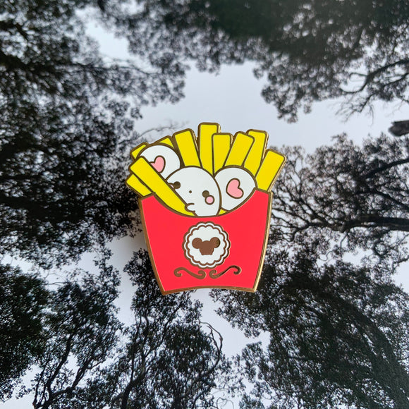Puffi French Fries Pin