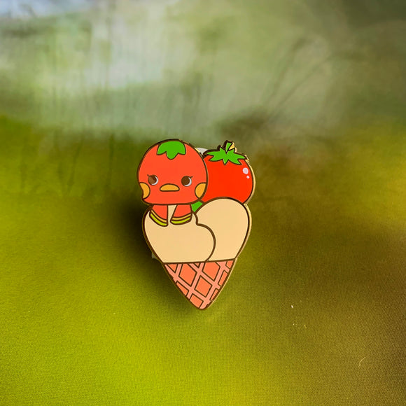 Animal Crossing // Ketchup Enamel Pin