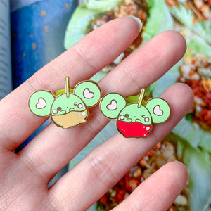 Caramel Apple Puffi Pin