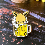 Jolteon Beer Enamel Pin