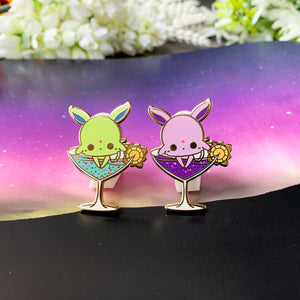 Espeon Sun Cocktail Pin