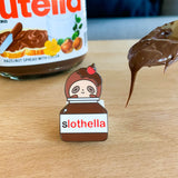 Sloth Nutella Pin