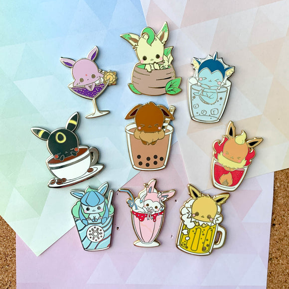 ♥ RESTOCK PRE-ORDER ♥ Eeveelution Pin Set
