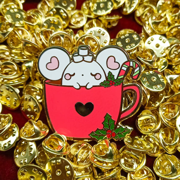 Puffi Hot Cocoa Pin