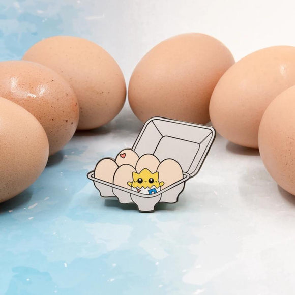 Togepi Egg Carton Enamel Pin