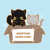 CHARITY PIN / KITTY