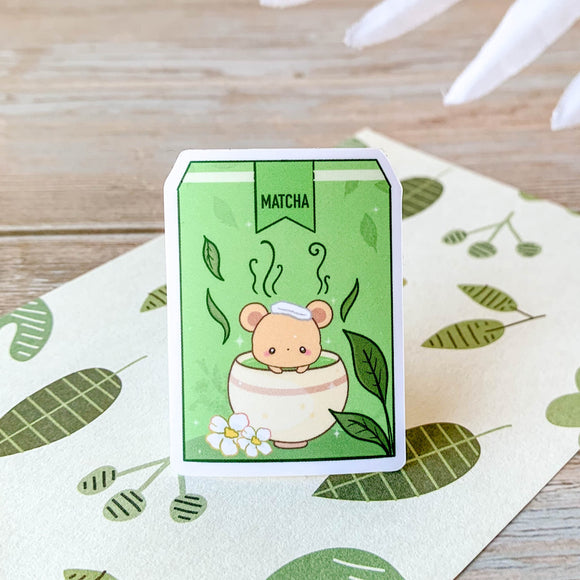 Matcha Bear Sticker