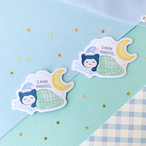 Sleepy Snorlax Sticker