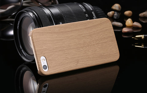 Vintage Wood Texture Case for iPhone (5 and newer)