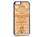 Hand Crafted in Europe Real Wood The Meaning Phone case