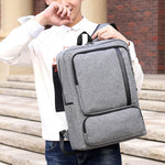 Men's Luxury Business Anti-Theft USB Charging Laptop Backpack