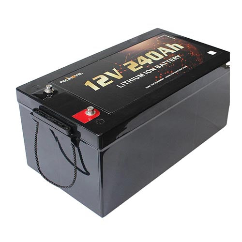 HD Series Professional for high current (160Amp Continuous BMS) Lithium Battery 12V 240Ah