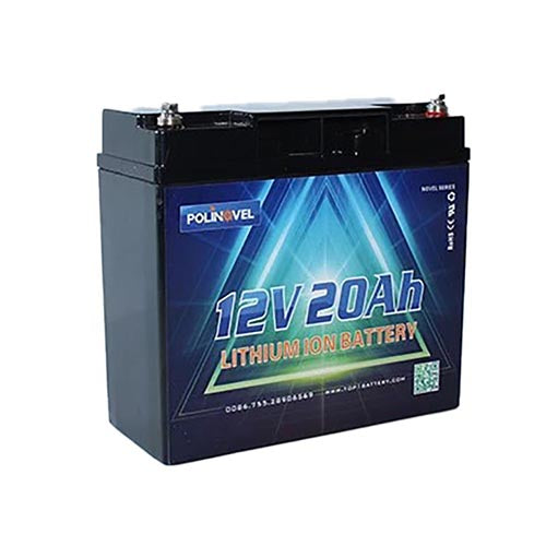 LiFePO4 battery - Bluetooth Novel Series 12V 20ah battery