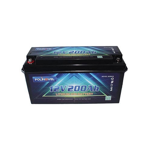 LiFePO4 battery Bluetooth  Novel Series 12V 200Ah
