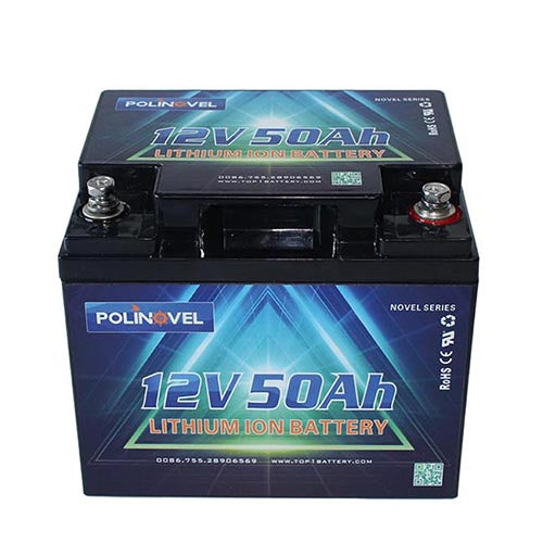 LiFePO4 battery Bluetooth Novel Series 12V 50Ah