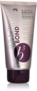 Brazilian BondBuilder B3 Instant Restore & Protect Reconstructor Treatment for Unisex, 6 Ounce