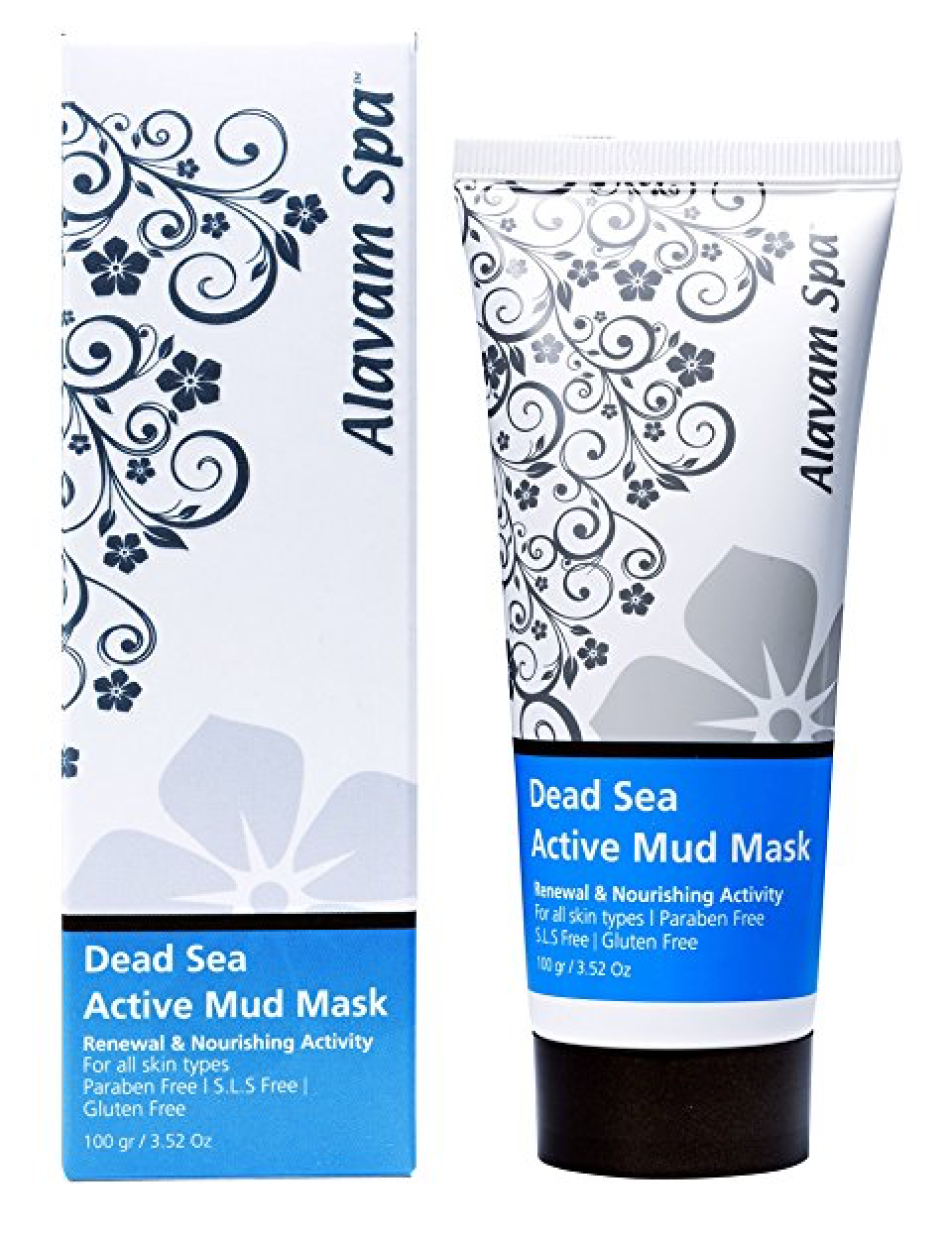 Alavam Dead Sea Active Mud Mask 3.52oz