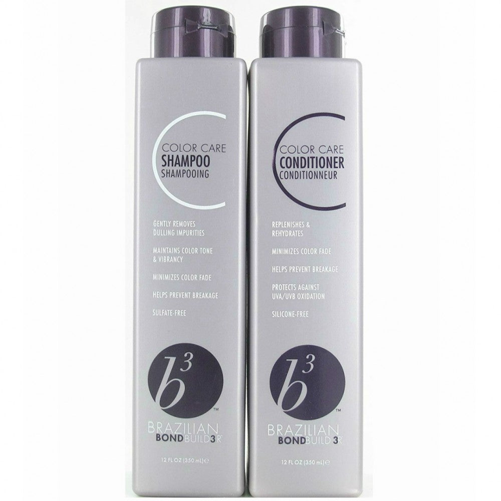 Brazilian Blowout B3 Color Care Shampoo and Conditioner 12oz Set