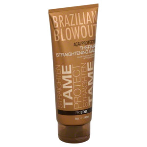 Brazilian Blowout - Acai Protective Thermal Straightening Balm 8oz/240ml