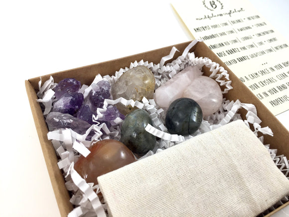 Mindfulness Starter Set of Crystals