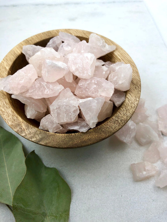Raw Rose Quartz Crystals