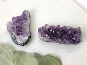 Raw Amethyst Geode Cluster - Bauxpeep Boutique