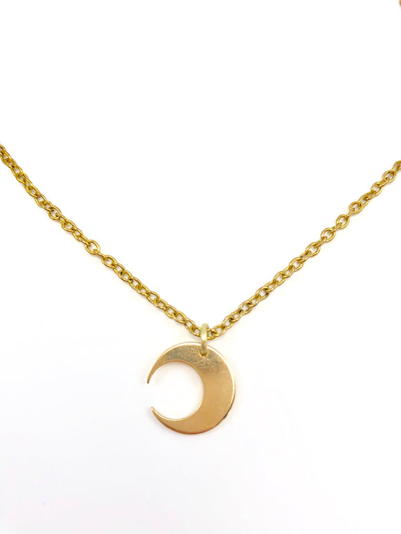 Celestial Moon Necklace