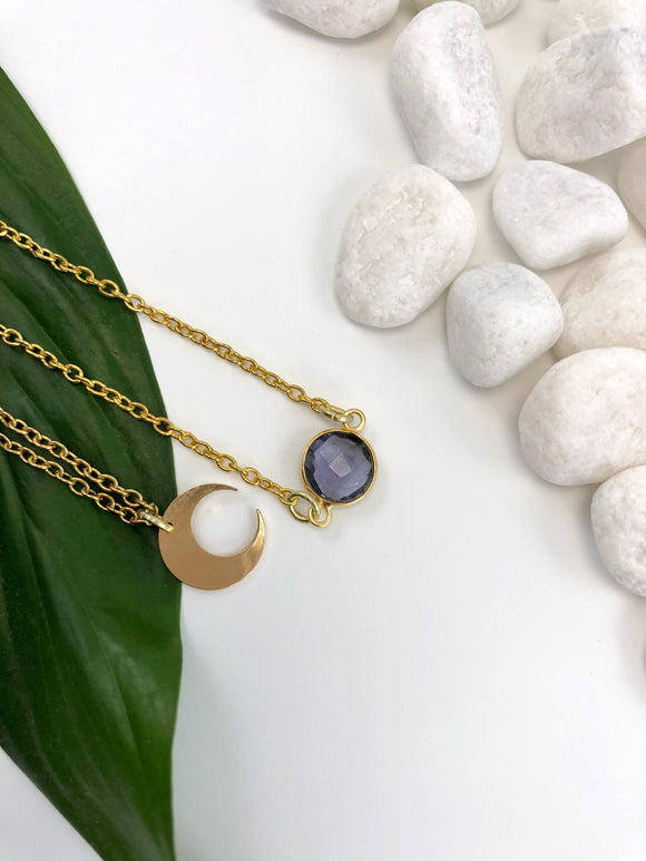 Celestial Gemstones Necklace Set