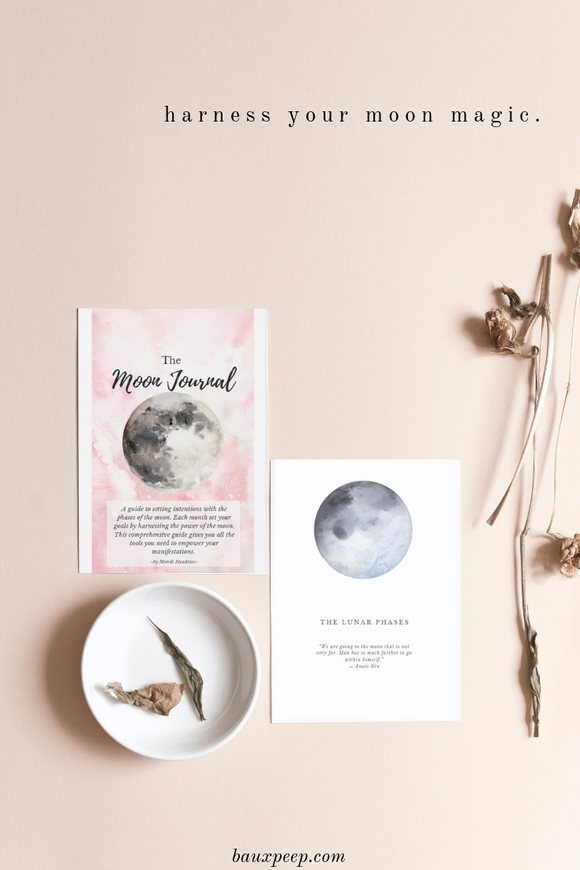 The Moon Journal - Bauxpeep Boutique