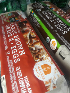 Brown Eggs Large Cage Free Dozen