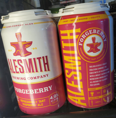 Alesmith Forgeberry Raspberry Ale 12oz 6pk Can