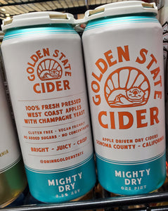 Golden State Cider Mighty Dry 16oz Cans 4 pk